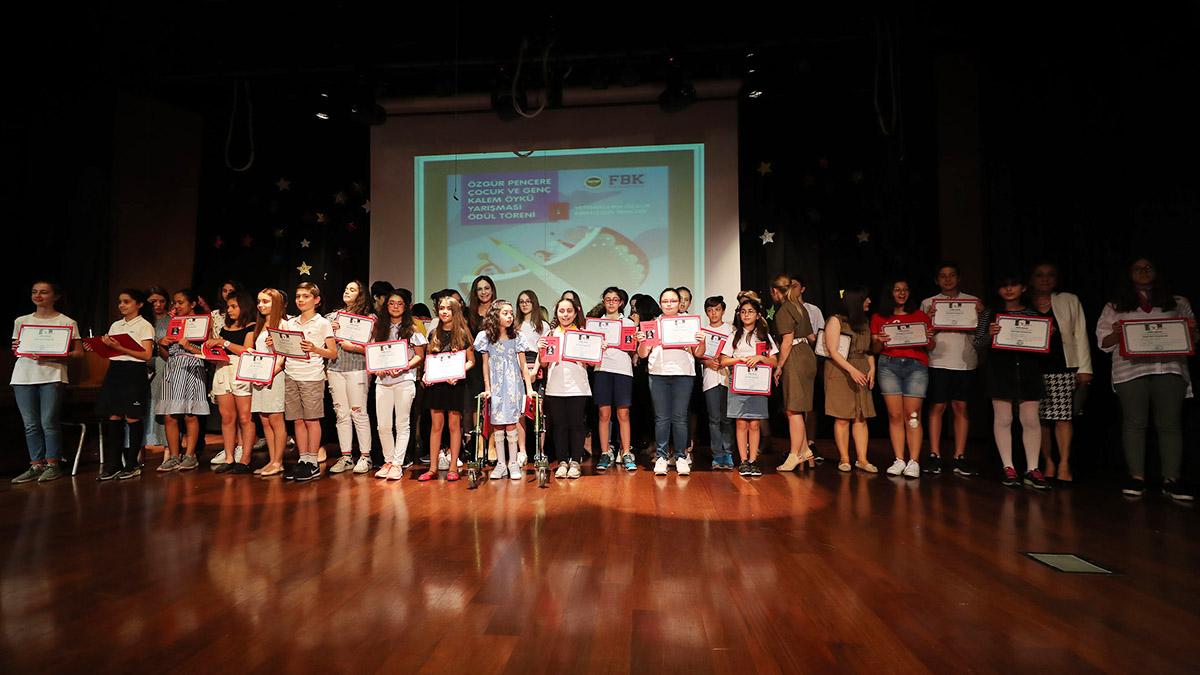 Özgür Pencere Çocuk ve Genç Kalem Öykü Yarışması Ödül Töreni Kolejimizde gerçekleştirildi