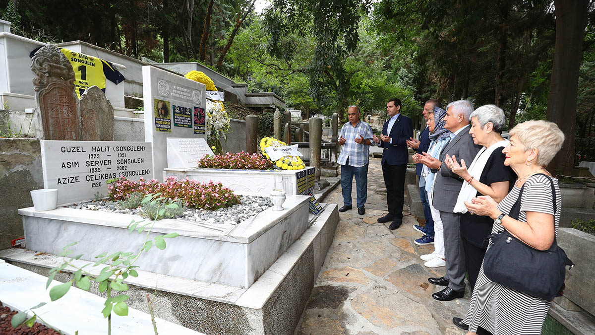 Kulübümüzün ilk Başkanı Ziya Songülen anıldı