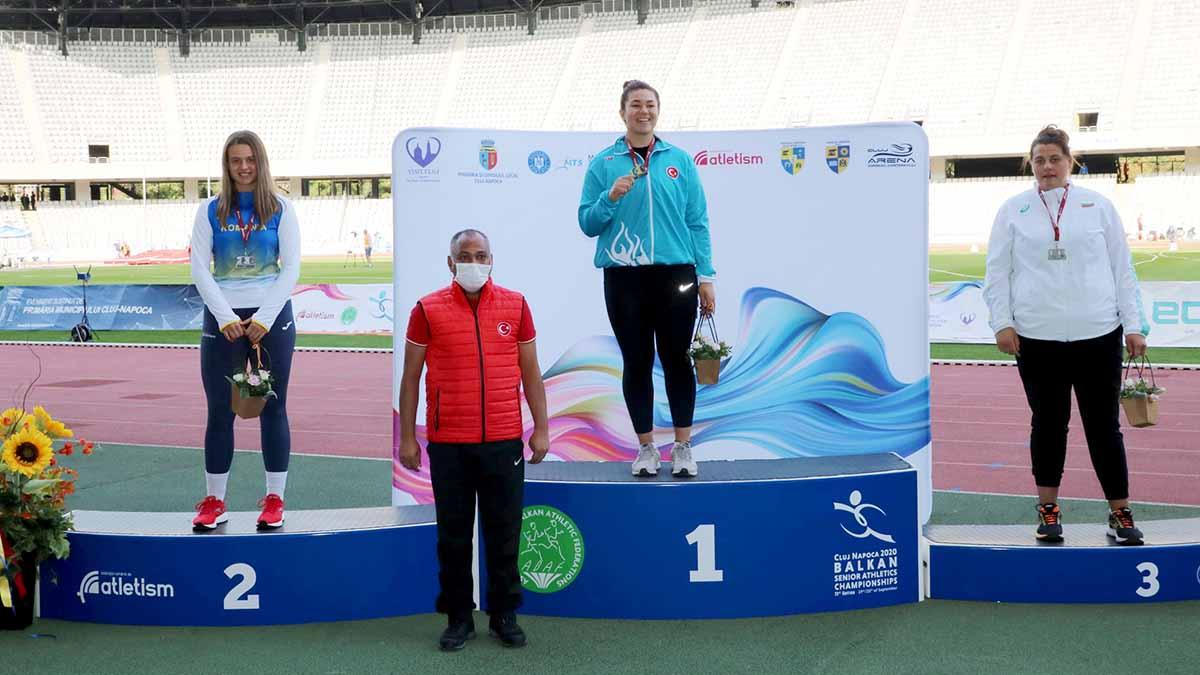 Atletlerimiz 73. Balkan Büyükler Atletizm Şampiyonası'ndan madalyalarla döndüler
