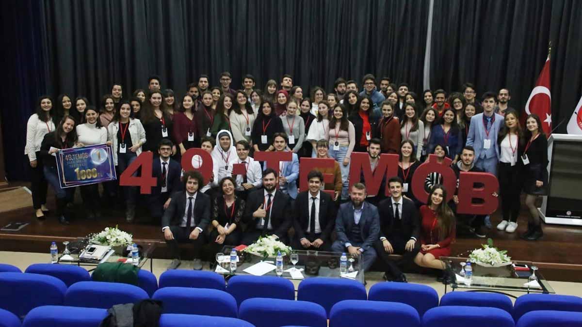 Fenerbahçe Üniversitesi öğrencileri 49. TEMÖB etkinliğine katıldı