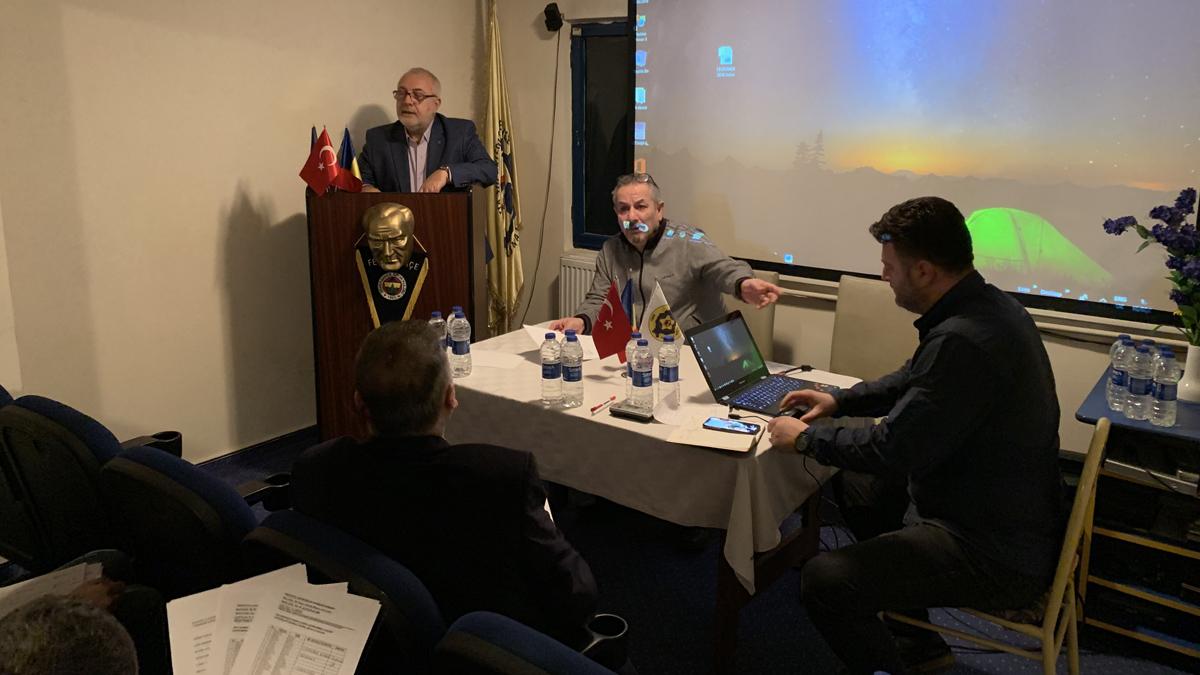 Romanya Fenerbahçeliler Derneği genel kurulunu yaptı