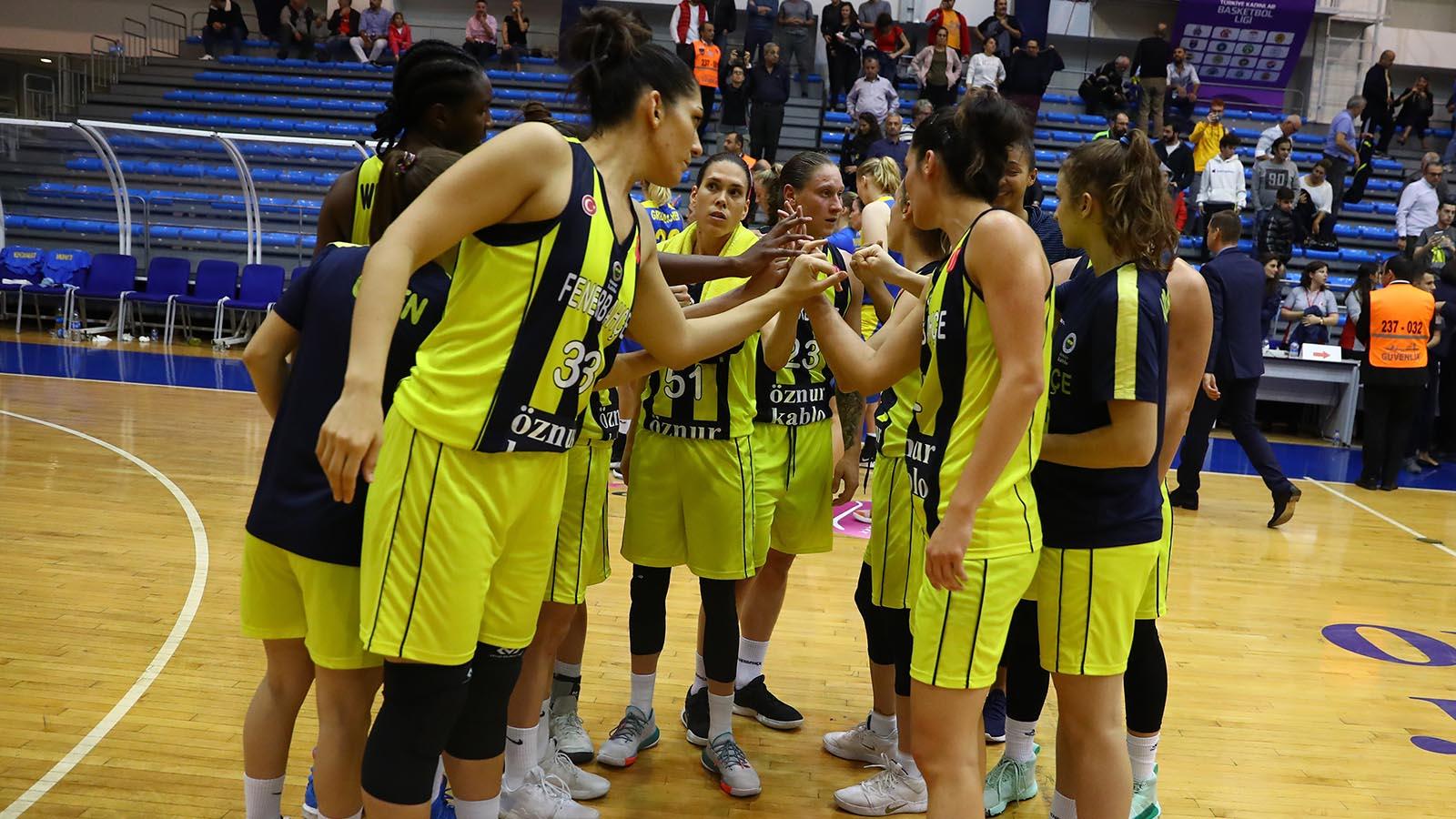 Fenerbahçe Öznur Kablo, OGM Ormanspor'a konuk oluyor