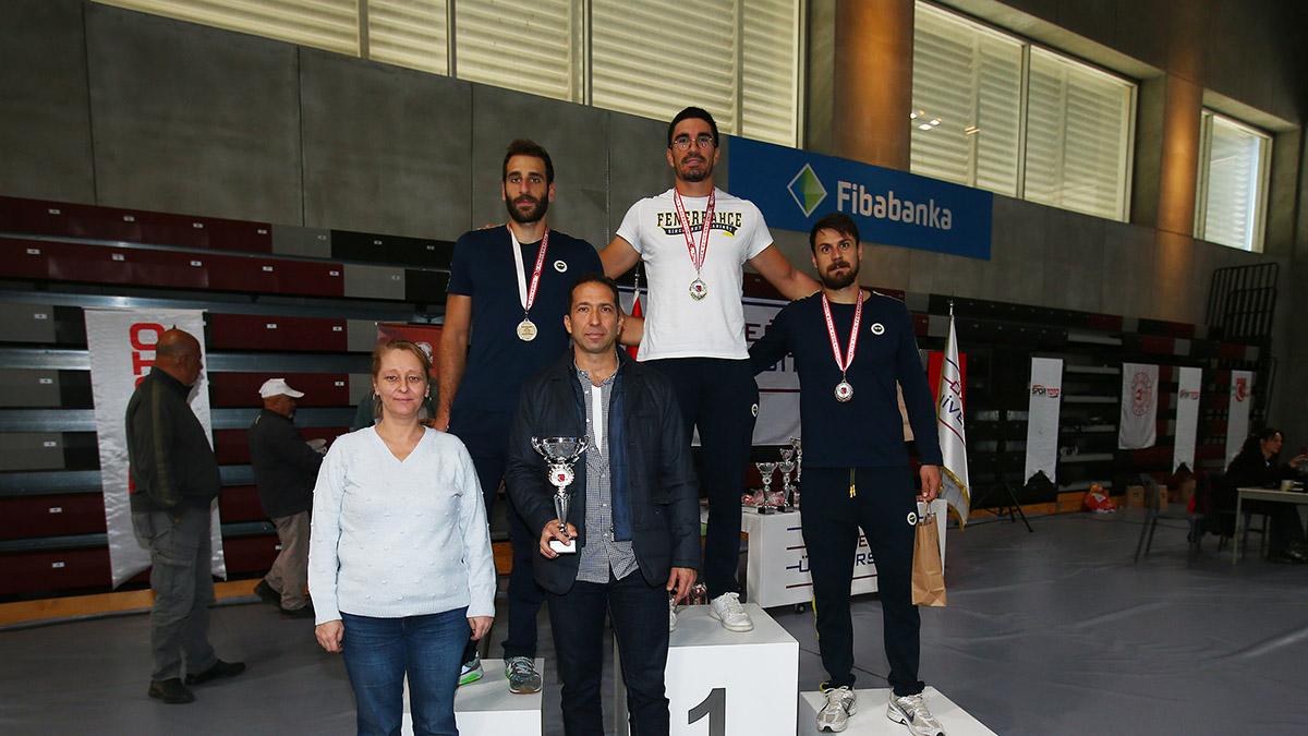 Türkiye Salon Kürek Şampiyonası'nda zirvede yer aldık