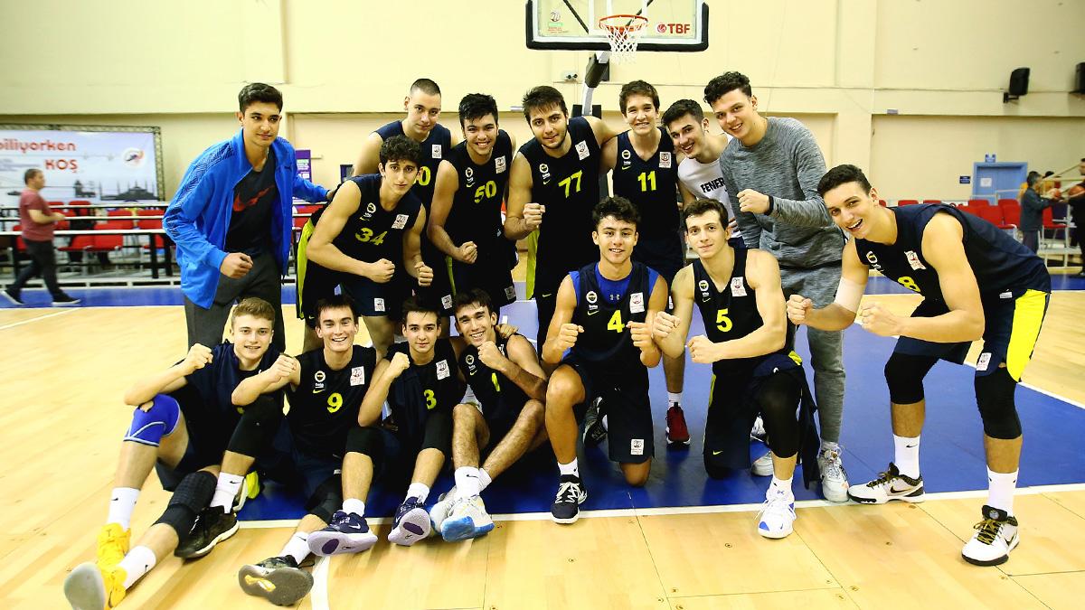 Galatasaray 60-80 Fenerbahçe Beko (Basketbol Gençler Ligi)