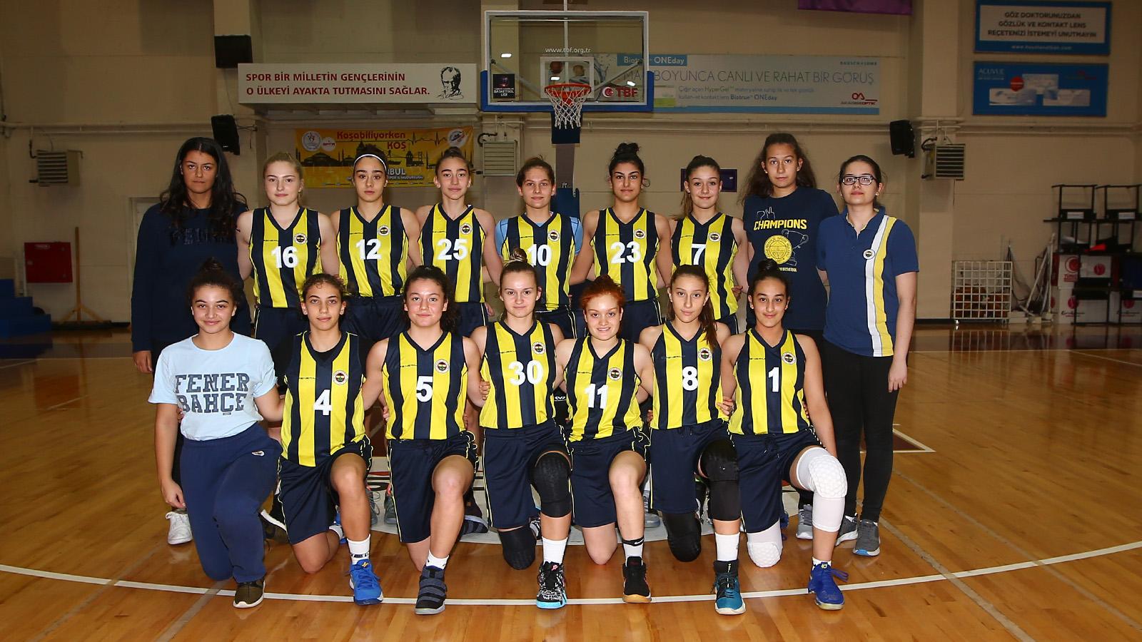 Fenerbahçe 62-59 Beşiktaş (Yıldız Kız Basketbol)