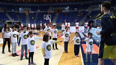 Fenerbahçe Beko'nun maç önü seremonileri devam ediyor