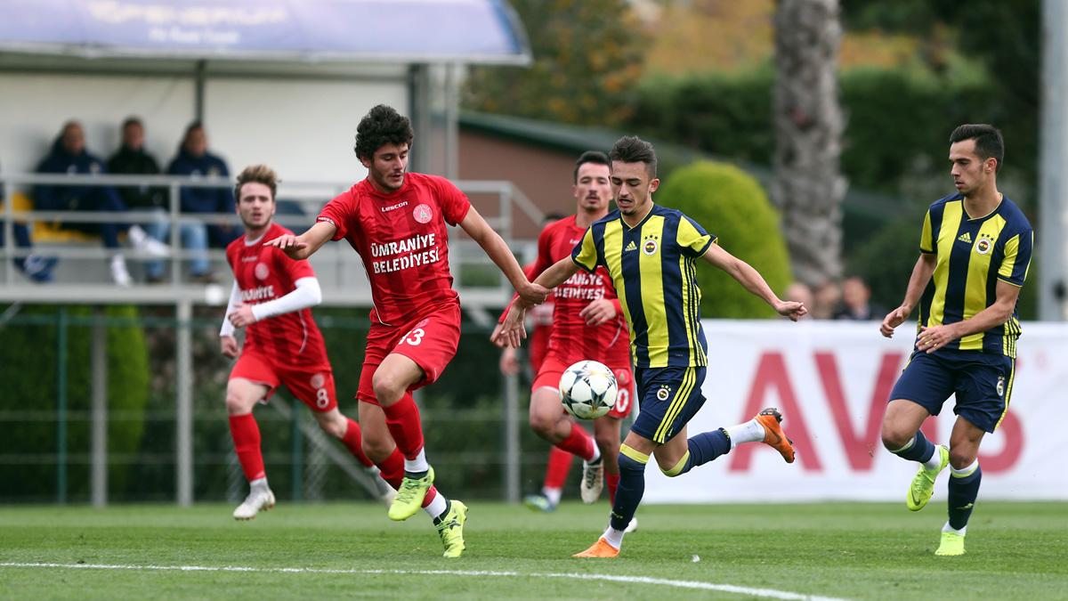 Fenerbahçe 5-0 Ümraniyespor (Hazırlık maçı)