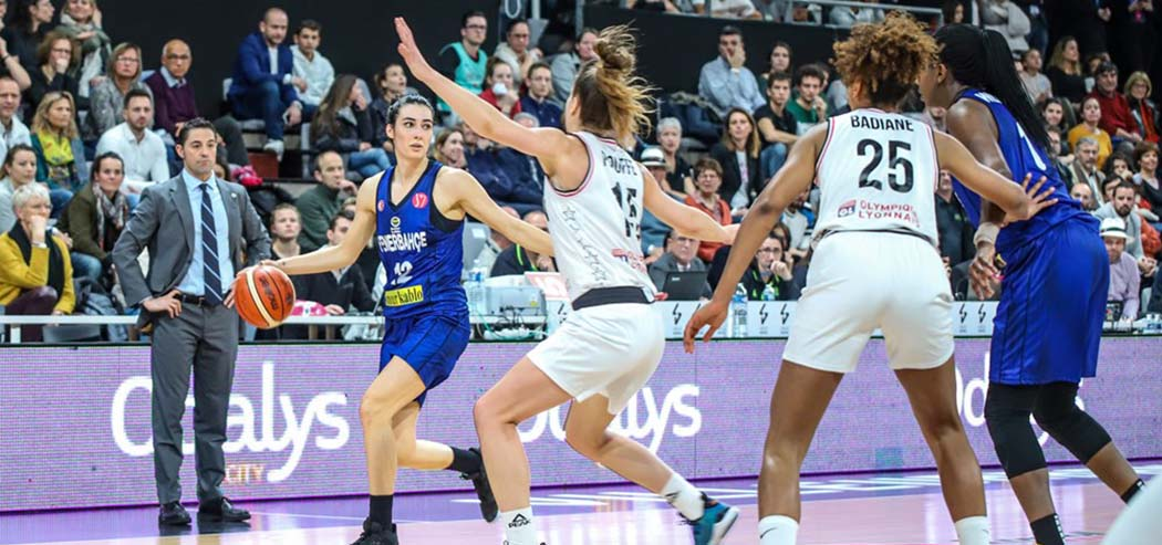 LDLC Asvel Feminin 78-65 Fenerbahçe Öznur Kablo