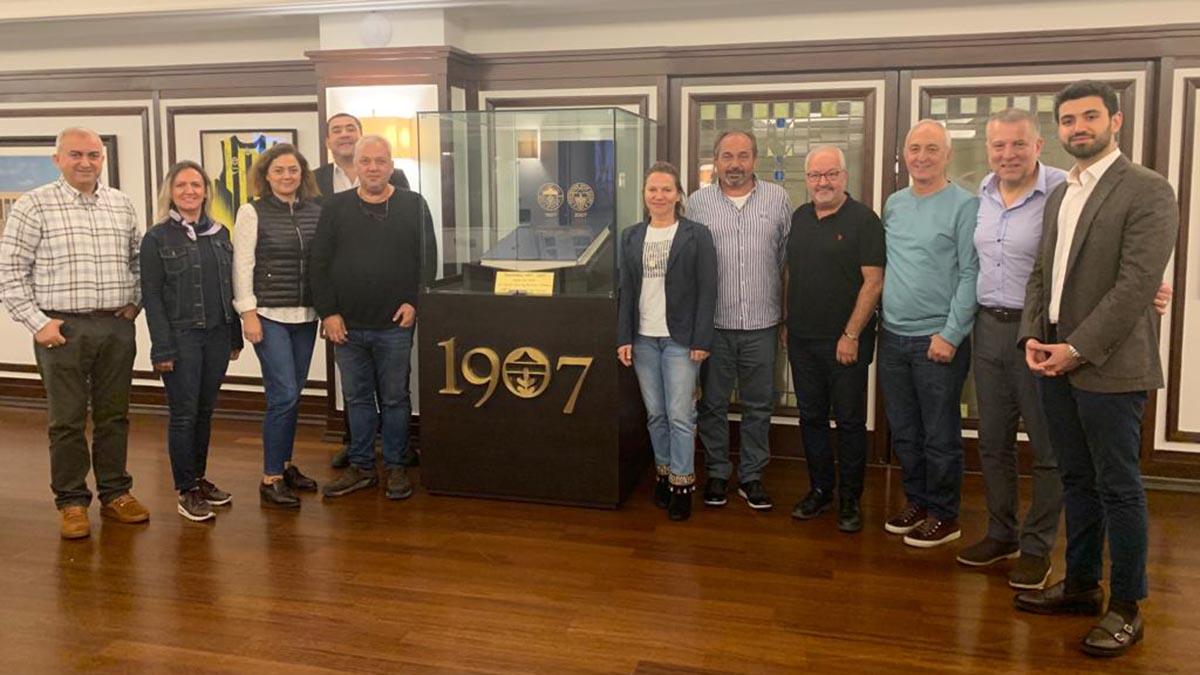 Fener Ol Bölge Gönüllüleri, Belçika Fenerbahçeliler Derneği ile bir araya geldi