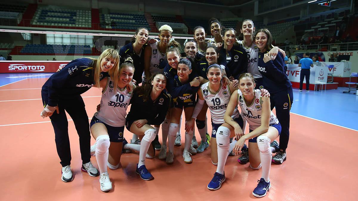 Beylikdüzü Voleybol İhtisas 0-3 Fenerbahçe Opet