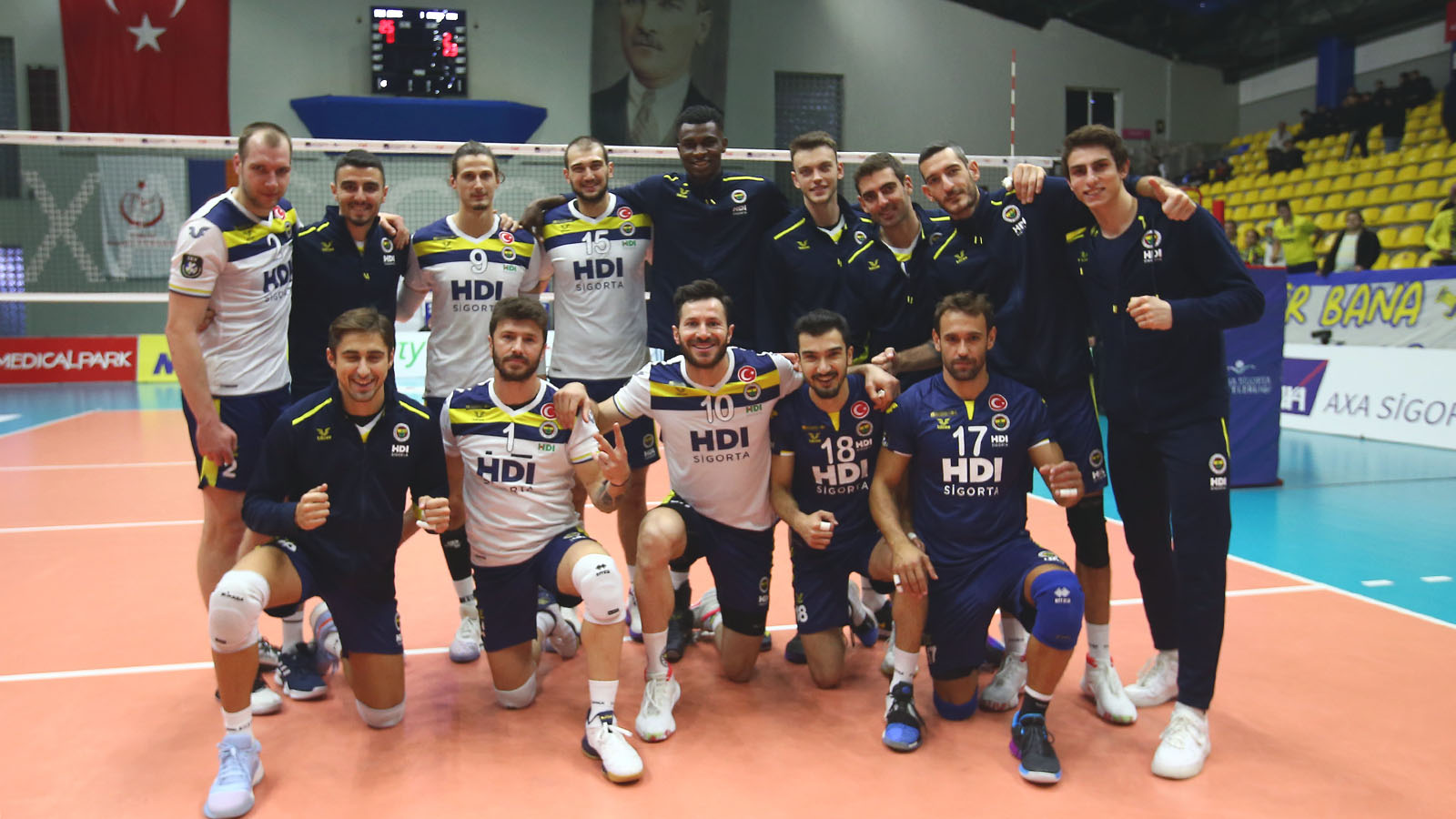 İstanbul BBSK 1-3 Fenerbahçe HDI Sigorta