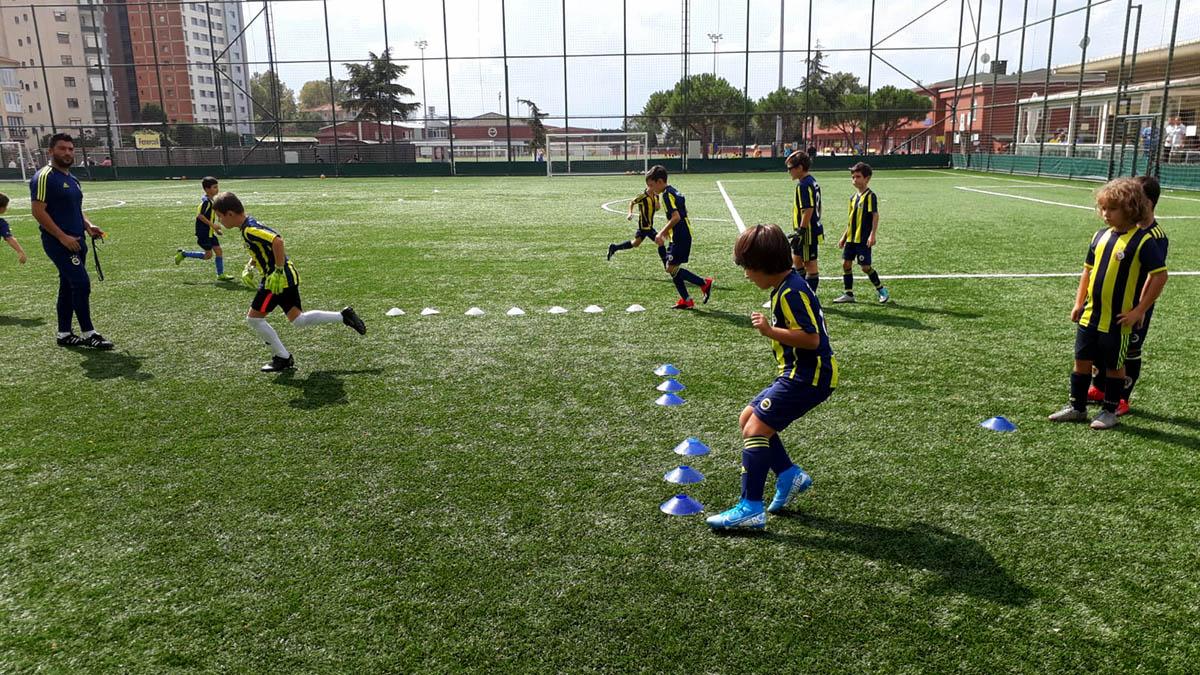 Fenerbahçe Spor Okulları Kış Dönemi Başladı