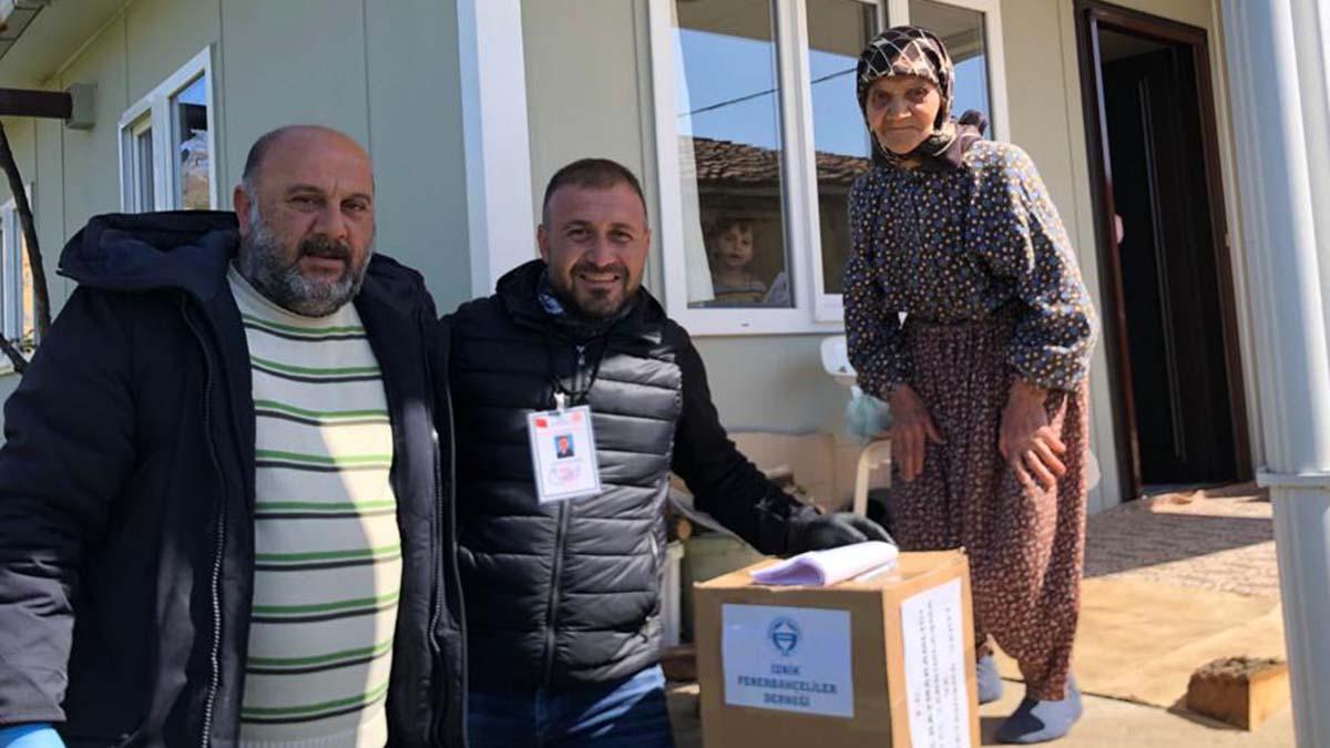 İznik Fenerbahçeliler Derneğimizden yardım kampanyası