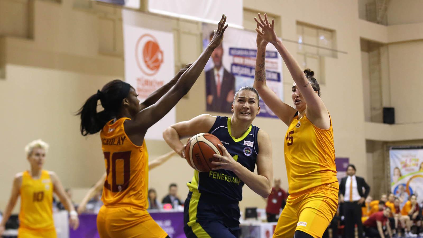 Galatasaray 74-59 Fenerbahçe