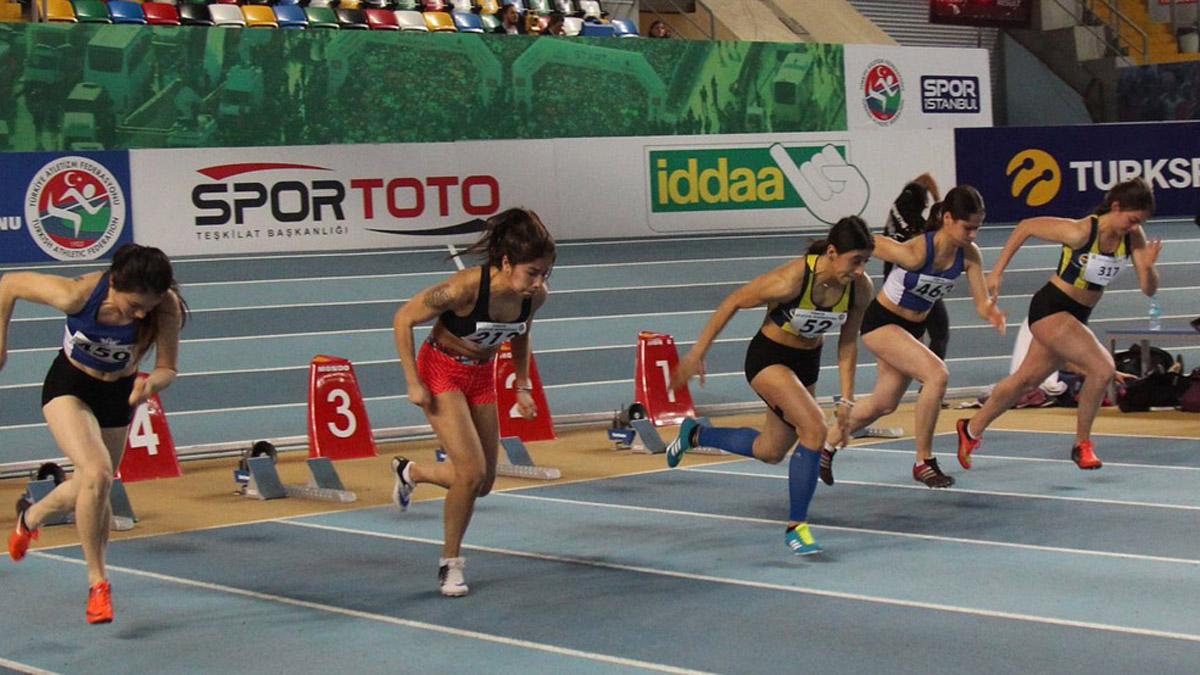 Türkiye Büyükler ve 20 Yaş Altı Salon Atletizm Şampiyonası rekorlarla başladı