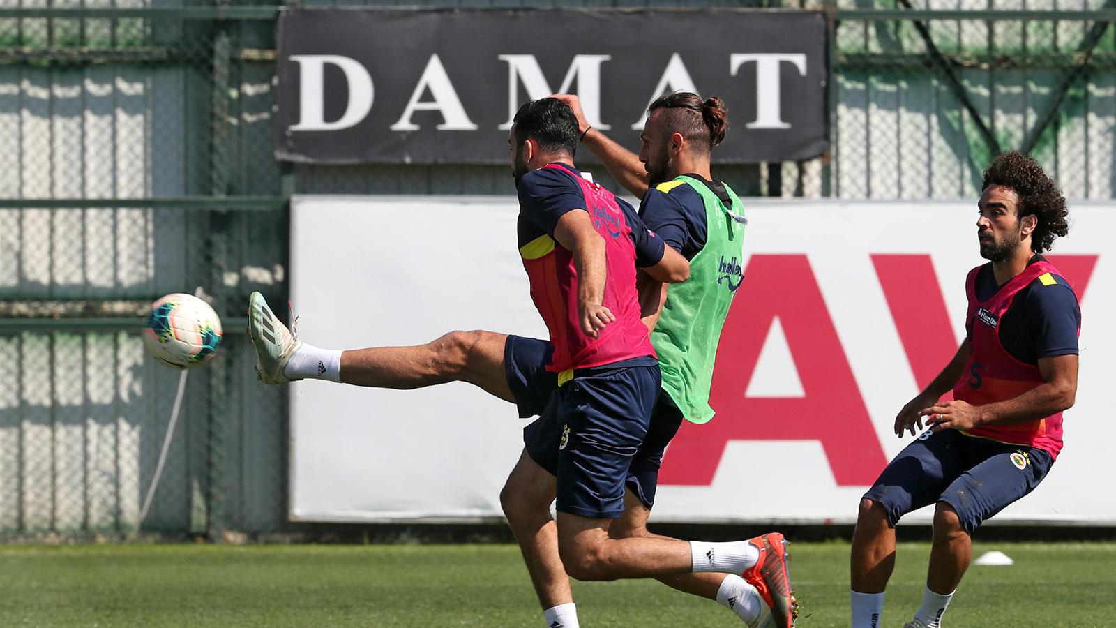 Antalyaspor maçı hazırlıkları devam ediyor