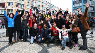 Taraftarımız Rıza Martaş Futbol A Takımımıza destek koşusunu tamamladı