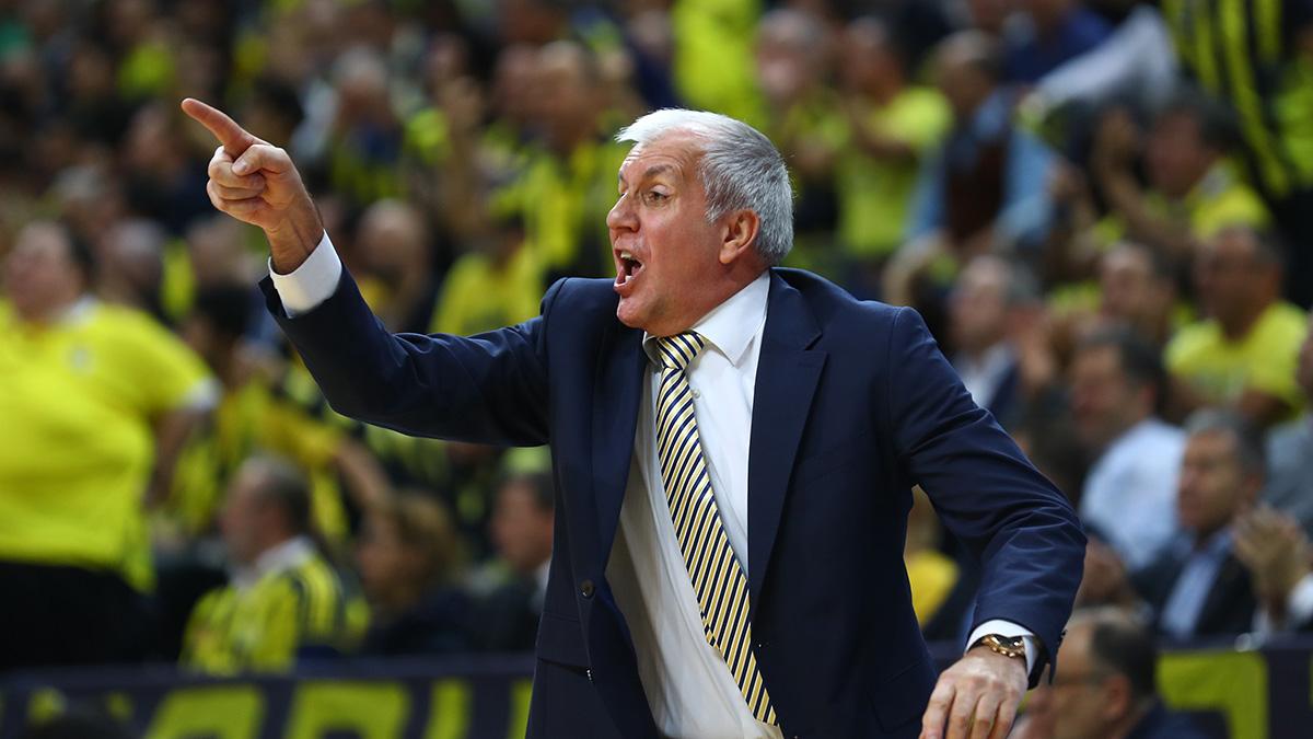 Başantrenörümüz Zeljko Obradovic, Anadolu Efes maçını değerlendirdi
