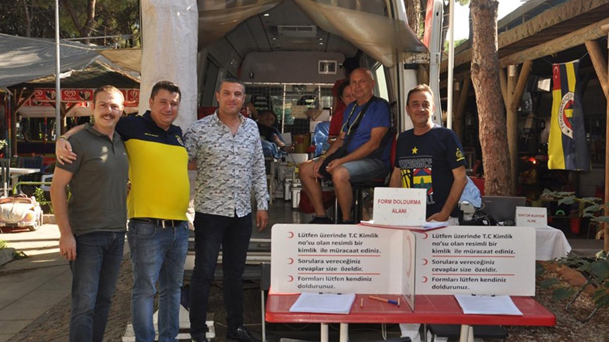 Ödemiş Fenerbahçeliler Derneği'nden kan ve kök hücre bağışı kampanyası