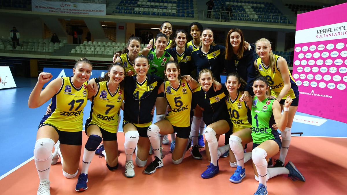 Fenerbahçe Opet 3-0 Halkbank