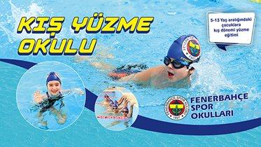 Fenerbahçe Yüzme Kış Okulu Kayıtları Devam Ediyor