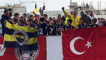 U11 Takımımız Slovakya'da şampiyon oldu